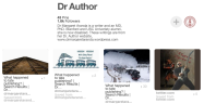 My DR Author blog has the same Pinterest & Twitter accounts.